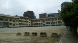 旧簀子小学校解体工事1