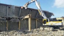 ランテック旧久留米支店解体工事2