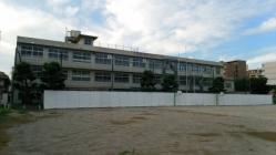 旧住吉小学校校舎解体工事1