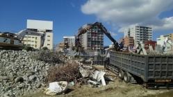 旧住吉小学校校舎解体工事4