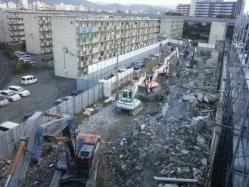 平成27年度公営住宅城浜住宅52.53棟解体工事3